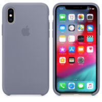 iPhone XS Силиконовый чехол - Lavender Gray (High Copy)