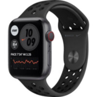 Apple Watch Nike Series 6 GPS + Cellular 44mm Space Gray Aluminum (MG2J3)