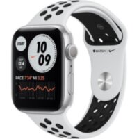 Apple Watch Nike Series 6 GPS 44mm Silver Aluminum (MG293)