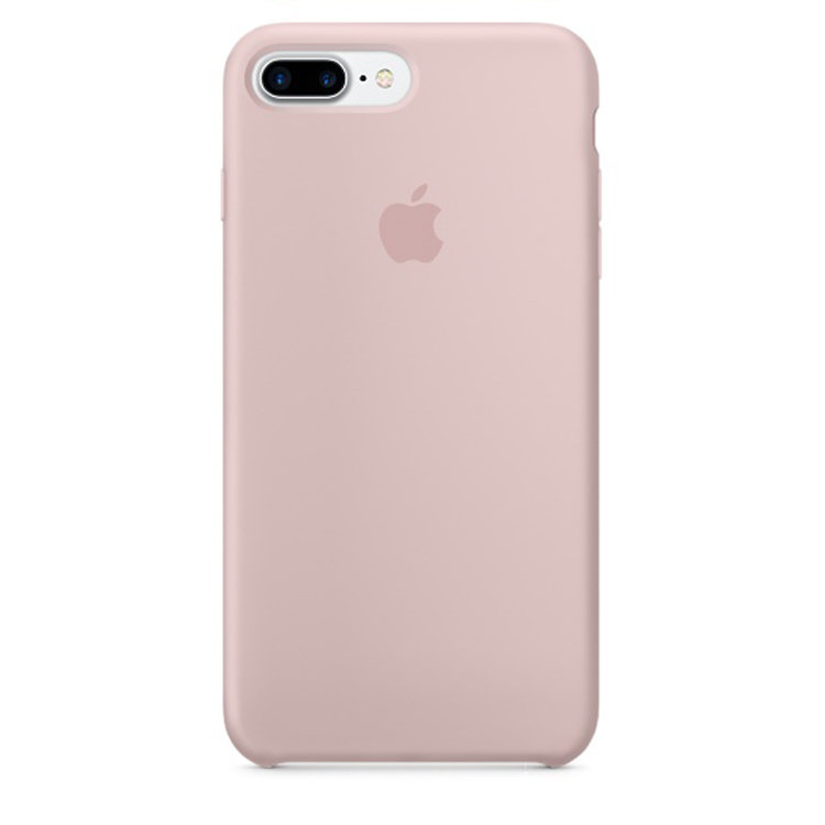 iPhone 7 Plus Silicone Case - Pink Sand (case)