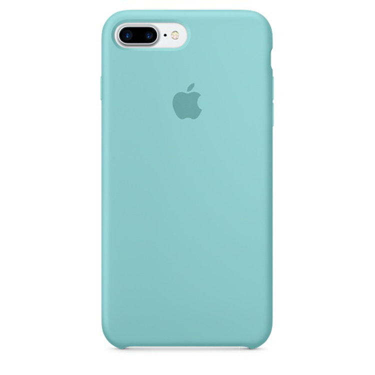 iPhone 7 Plus Silicone Case - Sea Blue (case)