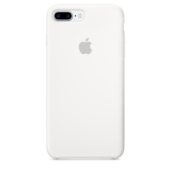 iPhone 7 Plus Silicone Case - White (case)