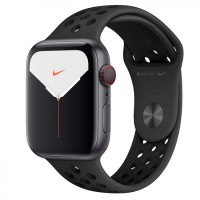 Apple Watch Nike 5 GPS + LTE 44mm Space Gray Aluminum w. Anthracite/Black Sport Band (MX3A2/MX3F2)