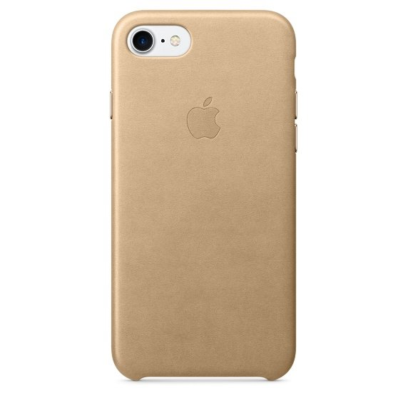 iPhone 7 Leather Case - Tan