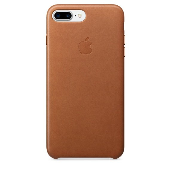 iPhone 7 Plus Leather Case - Saddle Brown