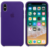 iPhone XS Max Силиконовый чехол - Ultraviolet (High copy)
