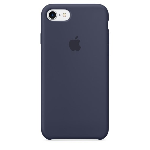iPhone 7 Silicone Case - Midnight Blue (case)