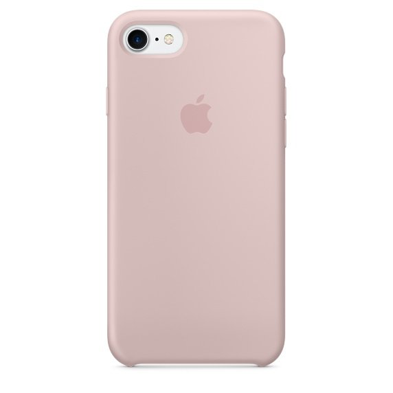iPhone 7 Silicone Case - Pink Sand (case)